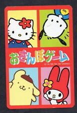 #850.006 vintage swap card -MINT- Hello Kitty and friends
