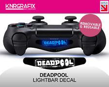 KNR2305 DEADPOOL  | Dualshock 4 PS4 Lightbar Light Bar Decal DS4