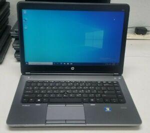 HP ProBook 645 G1 AMD A4-4300M 2.5GHz 4GB RAM 320GB HDD DVDRW Win 10