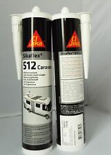 Sikaflex 512 300ml - White TWIN PACK EXP **01/2018** Caravan Adhesive Sealant