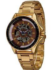 Minoir Uhren - Modell Meaux gold / braun Automatikuhr, Herrenuhr