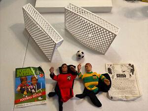 Mattel Real Men Soccer Edition Finger Puppets Vintage