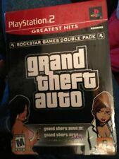 Grand Theft Auto III + Grand Theft Auto Vice City PS2 Juego Nuevo Playstation 2