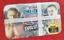 TOPPS - WWE SLAM ATTAX EVOLUTION - BOX COLLECTOR 24 slam attax cartes+1 rare+meg