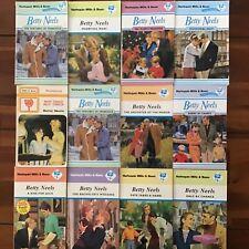 12 Mills and Boon BETTY NEELS Sexy Romance Novels bulk lot