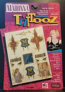 1991 Madonna Tatooz MIP vintage 90s Tattoos just toys