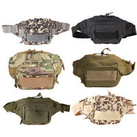 Outdoor Military Tactical Waist BackPack Shoulder Bag Molle Camping Hiking Pouch