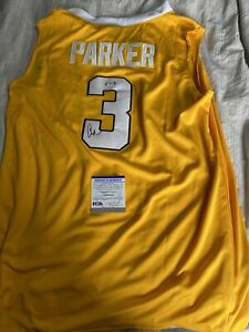 Candace Parker signed autographed Tennessee Volunteers jersey WNBA Legend PSA 2