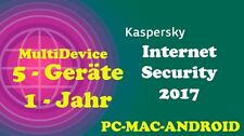 Kaspersky Internet Security MultiDevice WIN/MAC/ANDROID 1 Jahr - 5 Geräte