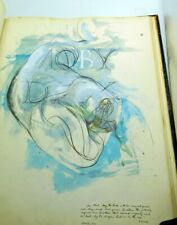 Moby Dick -  Listed Artist Portfolio of Original Watercolors - Never Published