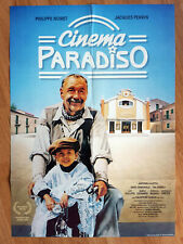 Cinema Paradiso - German 1-sheet poster Giuseppe Tornatore 1988 Philippe Noiret