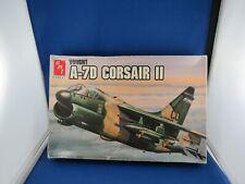 Vintage AMT ERTL Vought A-7D Corsair II Aircraft USAF 1988. Kit 8803