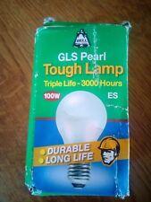 Bell GLS Pearl Tough Lamp Triple Life 100W ES/E27