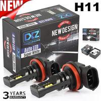 1Pair H11 320W CREE LED Fog Light Bulbs Car Driving Lamp DRL 6000K HID White cc