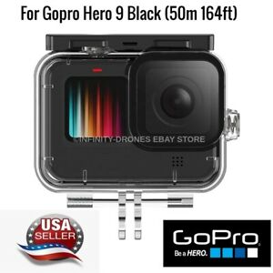 For GoPro Hero 9 Black 50M Waterproof Case Underwater Diving Protective Housing