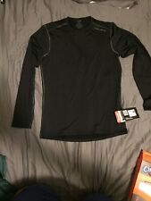 Black Underlayer Hot Chillys Mens Small