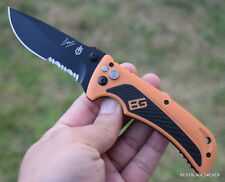 7.4 INCH OVERALL GERBER BEAR GRYLLS SPRING ASSISTED KNIFE RAZOR SHARP BLADE