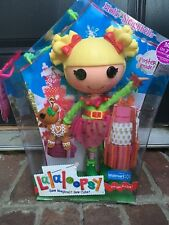 """HOLLY SLEIGHBELLS 2009 LalaLoopsy Large 12"""" FULL Doll New Limited Edition"""