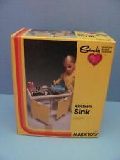 VINTAGE MARX TOY 1978 SINDY DOLL KITCHEN SINK MINT IN BOX