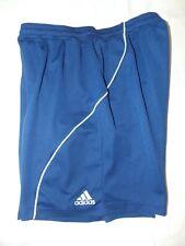 Boys Adidas Soccer Shorts Blue Medium