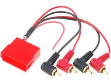 ZRS-MISO/4RCA Adapter ISO mini socket RCA plug x4 ''UK COMPANY SINCE1983 NIKKO''