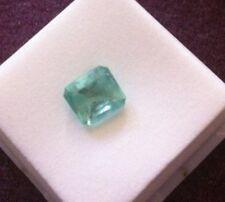 Colimbian Emerald, 2.40 Ct. Cushion Cut, Beauty!!!