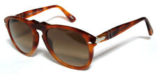 PERSOL 649 52 LIGHT HAVANA MARRONE SUNGLASSES SOLE CUSTOMIZED PERSONALIZZATO