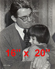 "To Kill A Mockingbird~Gregory Peck~Racism~Attorney~Poster~Photo #4~ 16"" x  20"""