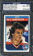 1982-83 O-Pee-Chee #380 Dale Hawerchuk PSA/DNA 8