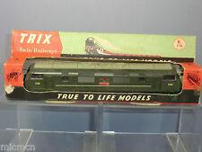 """TRIX TWIN MODEL No.F106 BR """"WARSHIP"""" CLASS Bo-Bo D801 """"VANGUARD"""" DIESEL VN  MIB"""