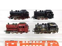 CE436-2# 4x Märklin H0/AC 3000 Tenderlok/Dampflok: 89 006 + 89 005 etc, 2. Wahl
