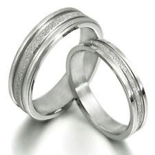 Matching Wedding Engagement Bands Titanium Ring MKUK016B