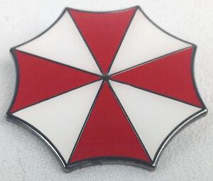 RESIDENT EVIL Umbrella Corporation Logo - Movie and Video Game Large Enamel Pin