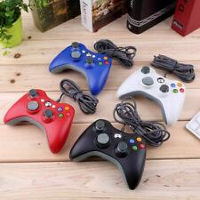 Manette de jeu filaire ergonomique  USB pour Microsoft Xbox 360 PC