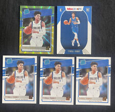 Tyrell Terry Rookie Card Lot - Rated Rookie Green Yellow Lazer