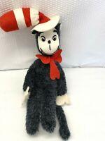 Vintage 1976 Cat In The Hat  Dr. Seuss Toys By Douglas Plush Toy