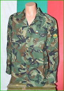 Bulgarian Army Woodland Camouflage Coat Shirt sz. L