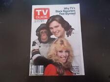 BJ and the Bear, Judy Landers, Conrad Janis - TV Guide Magazine 1981
