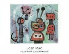 Joan Miró - L'Oiseau au regard, 1952 - Art Print Miro Poster 35.5x27.5