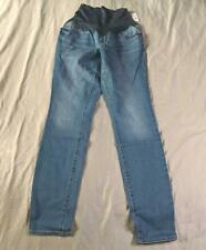 Old Navy Women's Maternity Full-Panel Skinny Jeans CD4 Willow Size 6 Long NWT