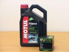 Motul Powerjet teilsyn 10W40 / Ölfilter Seadoo GTS 130 Bj 11 - 16