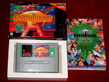 *Complete PAL Version* EARTHBOUND Game English For Super Nintendo SNES Mother 2