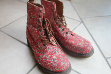 Dr. Martens Doc Martens PAGE Boots Blumen rot bunt mehrfarbig 42 TOP