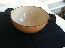 Le Creuset,Stove Top Pot? Two toned in Color Great Looking Piece of Cook Ware