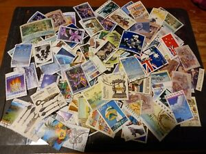 ACCUMULATION OF EARLIER HIGHER VALUE DECIMAL STAMPS UP TO $5.