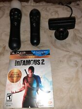 PS3 Move Motion and Navigation Controllers With Camera - PS3 - Sony PlayStation