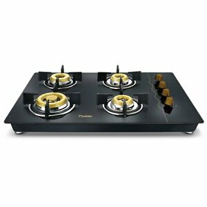Prestige Gold Hob top PHTG 04 With Glass Top 4 Burners and Auto Ignition 40562