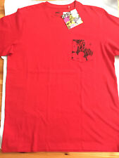"""UNIQLO SPRZ NY ANDY WARHOL """"GRAPHIC""""  RED MEN'S T-SHIRT - X-LARGE"""