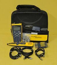 Fluke Networks Cableiq Qualification Testeur Intellitone Pro 200 Sonde Kit
