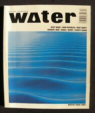 Surfline'S Water Magazine 2003 Winter Vol.1 #4 Surfing Hawaii Surfer Longboard